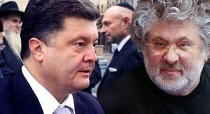 Коломойский заблокировал счета Порошенко на 50 млн долларов США