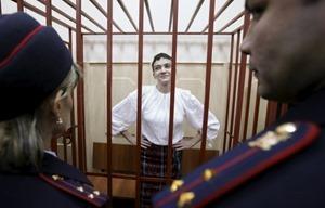 Савченко вернули из больнице обратно в СИЗО