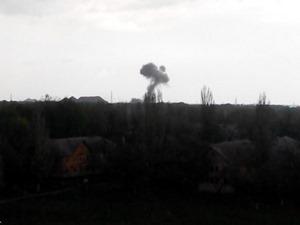 СМИ: В Донецке на базе боевиков прогремел мощный взрыв