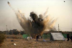 ВВС Израиля нанесли ответный удар по Хамасу