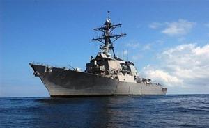 Ракетный эсминец США войдет в Черное море 6 октября