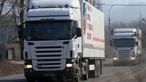 Россия приступила к формированию 41-го «гумконвоя» для Донбасса