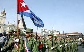 В Сирию прибыли кубинские военные