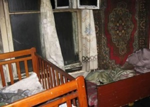 В Полтавской области в частном доме угорели трое детей