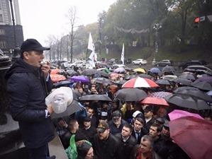 Ляшко объявил «коммунальный Майдан» под стенами Кабмина