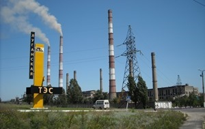 Луганск остался без света из-за аварии на ТЭС
