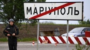 Боевики не спешат отводить технику от Мариуполя