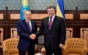 Украина и Казахстан подписали план двухсторонних действий по сотрудничеству на 2015-2017 годы