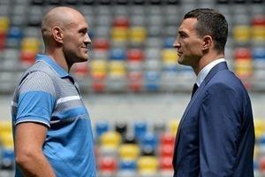 Бой между Кличко и Фьюри состоится 28 ноября
