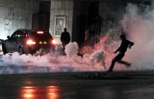 В Косово полиция применила слезоточивый газ против демонстрантов