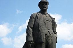 В центре Донецка пытались взорвать памятник Ленину