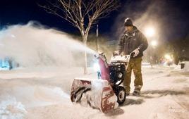 Из-за снегопада в США погибли по меньшей мере 30 человек