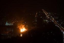 В Одессе в новогоднюю ночь из-за фейерверков сгорели три дома