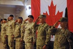 В Украину прибыли 200 канадских солдат для обучения военнослужащих ВСУ