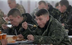 Полторак обещает изменить подход к питанию военных в зоне АТО