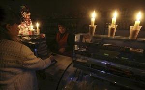 В Крыму в час пик по-прежнему проводится веерные отключение электроэнергии
