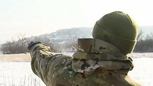Бойцы АТО заняли господствующую высоту на Донбассе