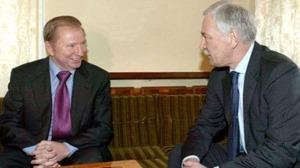 Кучма и Грызлов обсудили следующую встречу контактной группы