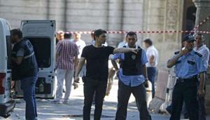 В сети появились фото с места взрыва в Стамбуле