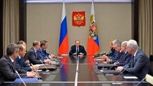 Путин созвал срочный Совбез из-за  Украины, Сирии и США