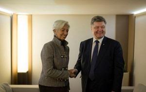 Порошенко: Украина получит транш от МВФ в феврале