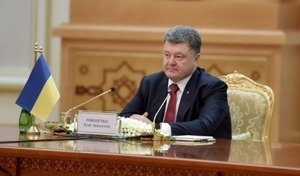 Порошенко обещает через две недели ряд судебных исков в связи с оккупацией Крыма