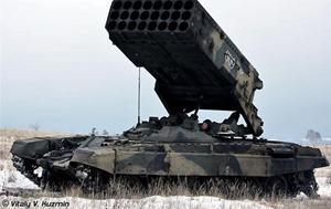 Боевики в зоне АТО прячут не отведенные танки и «Буратино»