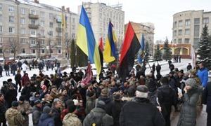 В Кировограде состоялся митинг за проукраинское название города