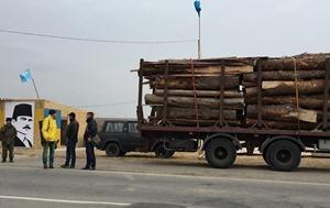 Активисты блокады Крыма убрали все свои блокпосты