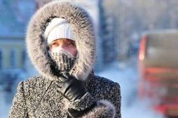На Украину надвигаются аномальные морозы до -30 градусов