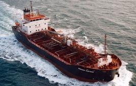 В Европу прибыл первый танкер с нефтью из США