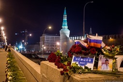 Власти Москвы третий раз ликвидировали народный мемориал Немцова
