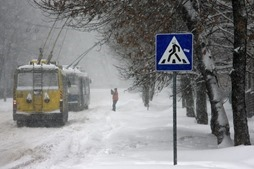 Укргидрометцентр объявил на сегодня штормовое предупреждение