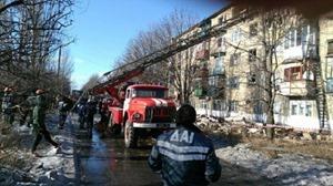 В сети появилось видео смертельного пожара в центре Киева