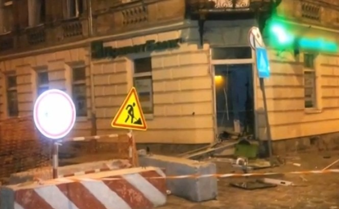 ВоЛьвове двое вбалаклавах подорвали банкомат «Приватбанка»,— Зинкевич