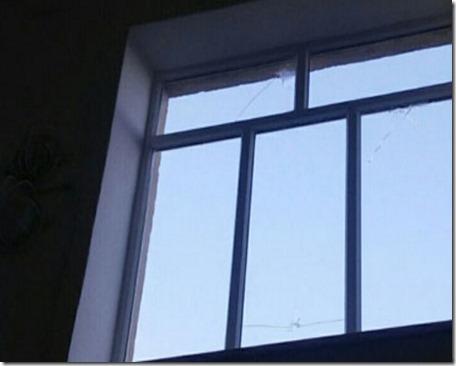 2-ой раз замесяц боевики обстреляли школу вМарьинке