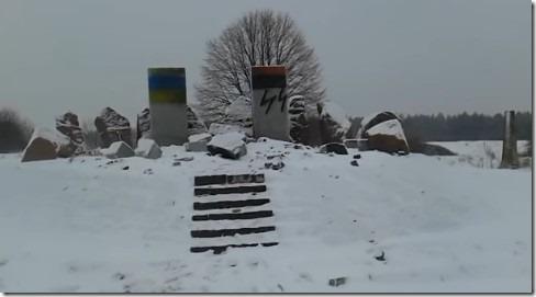 Варшава потребовала от столицы Украины отыскать инаказать вандалов, осквернивших монумент полякам