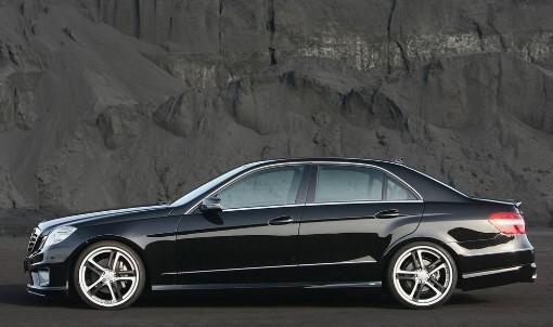 Mercedes-Benz E63 AMG - вид сбоку