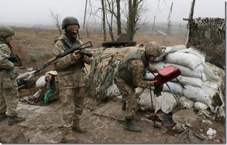 Стало известно об немалых потерях боевиков и русских войск— Обострение наДонбассе