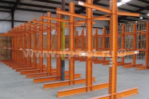 Т-подобные усиленные консольные металлические стелажи