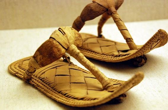 Босоножки в Древнем Египте