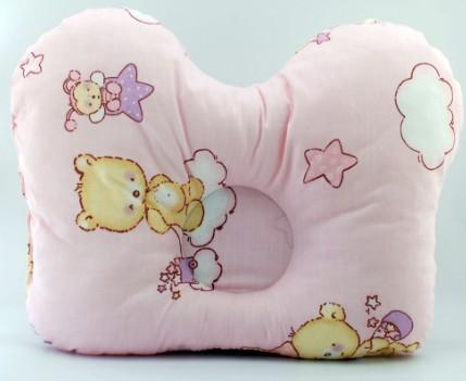 Ортопедическая подушка в форме бабочки для новорожденного