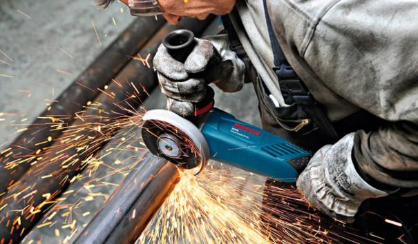 угловая шлифовальная машина Bosch