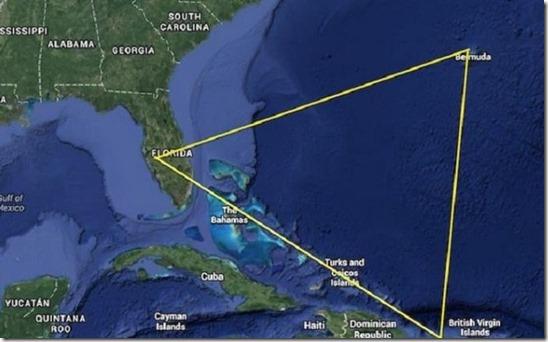 Ученые считают что тайна таинственной аномалии раскрыта— Бермудский треугольник