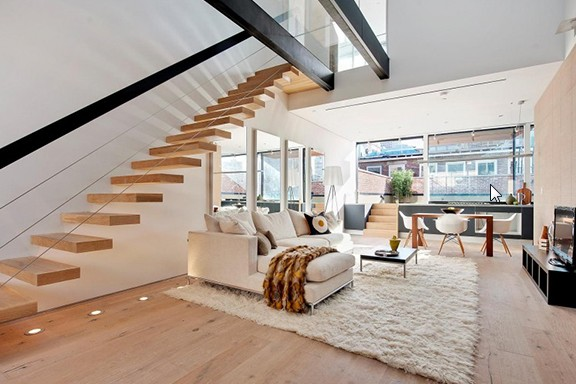 Квартира на два уровня