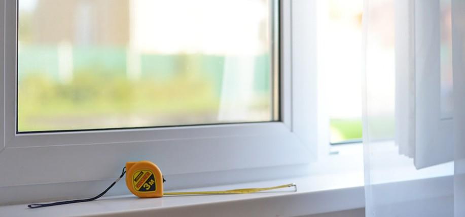 замер металлопластиковых окнах:
