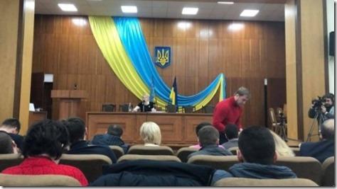 Насессии горсовета Ирпеня Киевской области прозвучал гимн Российской Федерации
