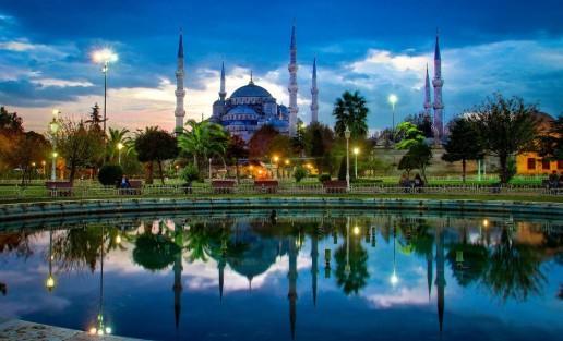 Вечерняя Турция
