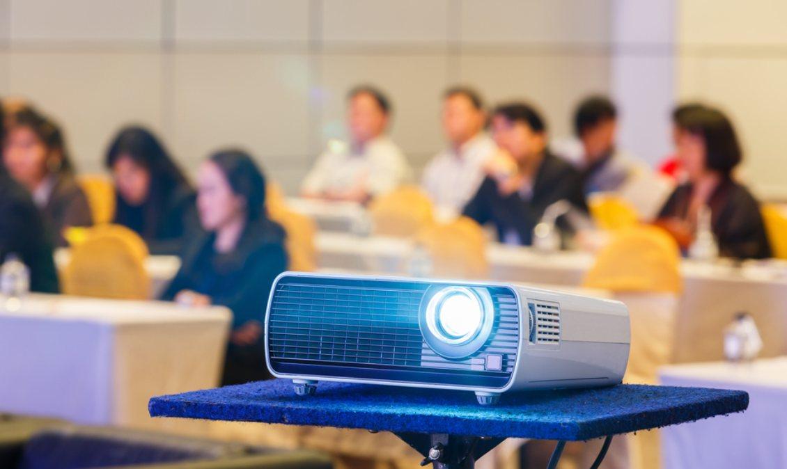 проектор в классе